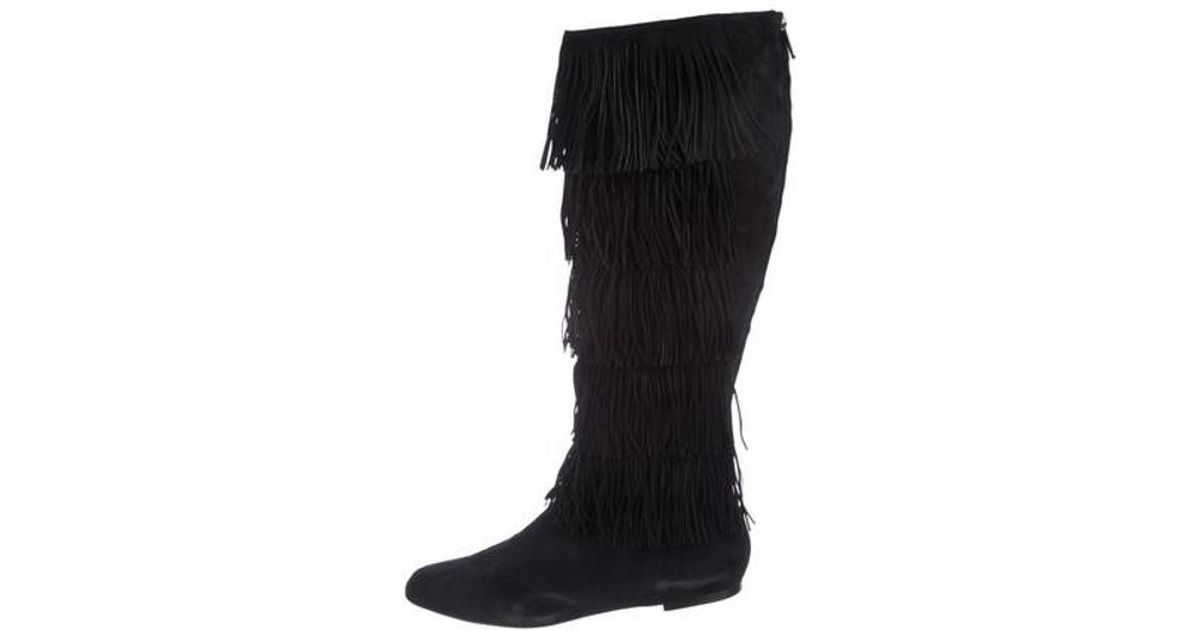 super popular 87ce7 c0694 paul-andrew-Black-Fringe-accented-Suede-Boots.jpeg