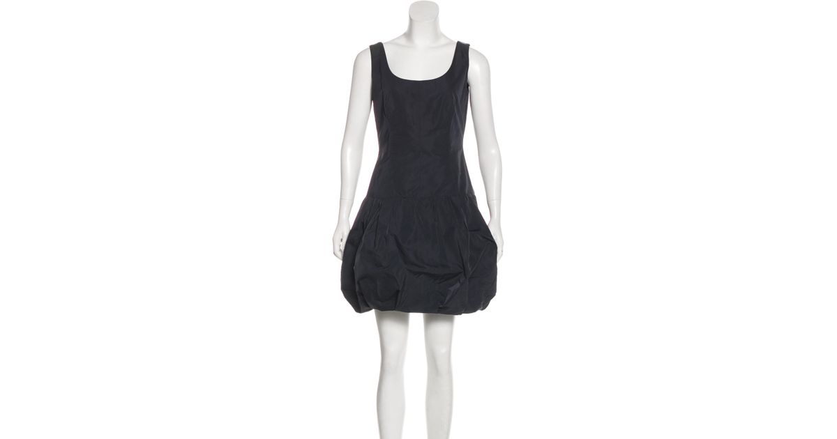 Lyst Louis Vuitton Sleeveless Mini Dress In Black