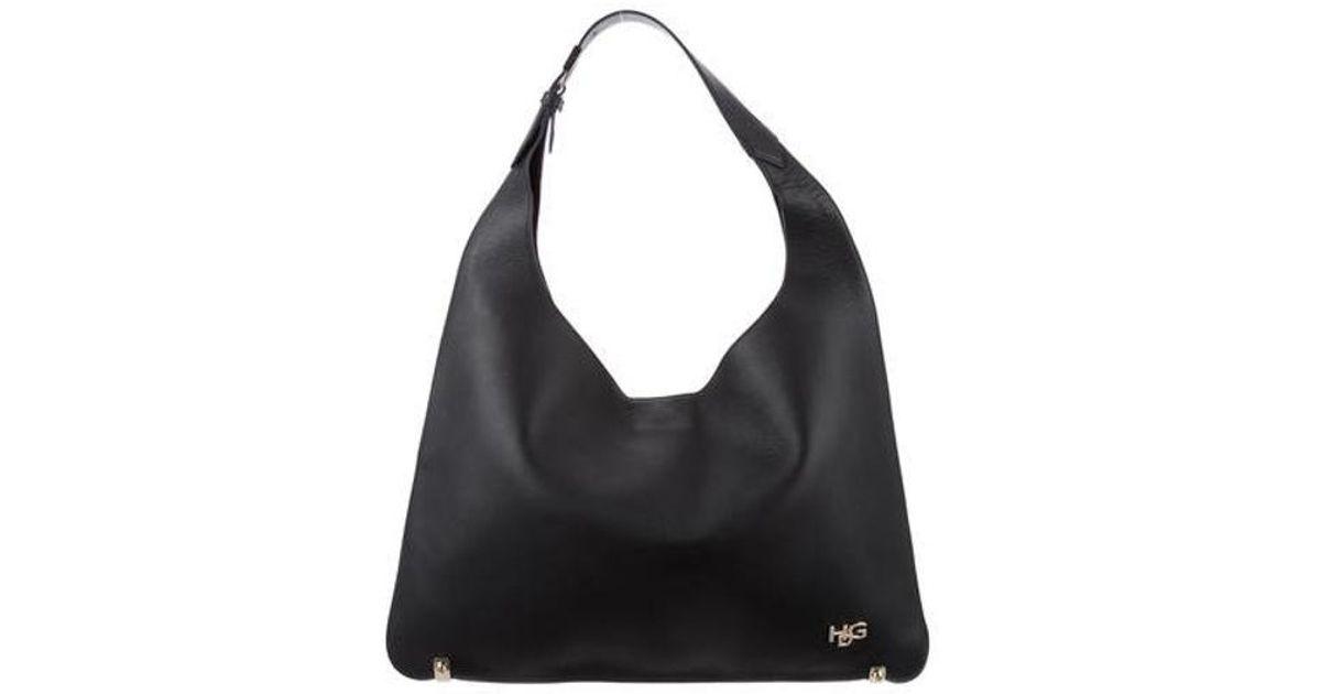 Lyst - Givenchy Medium Hdg Hobo W  Tags Black in Metallic b0b8a8c32bafa