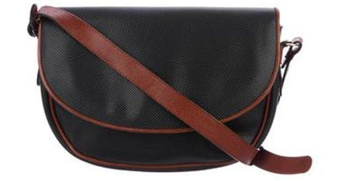 Lyst - Bottega Veneta Marco Polo Crossbody Bag Navy in Metallic b18f9b03c849a
