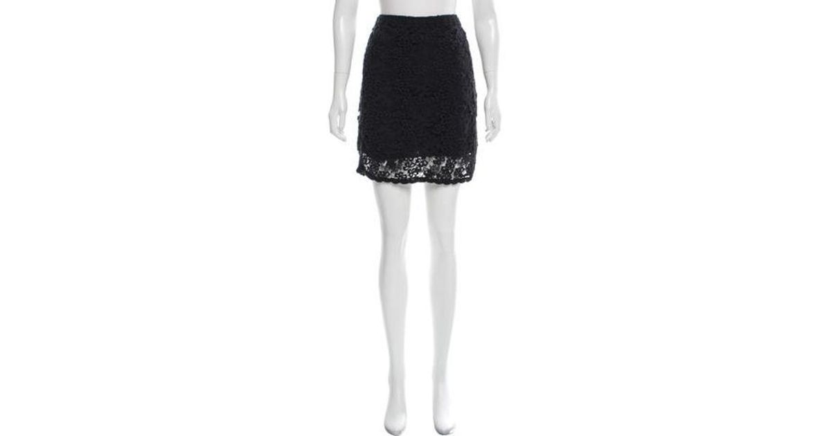 Lyst Etoile Isabel Marant Mini Pencil Skirt In Black