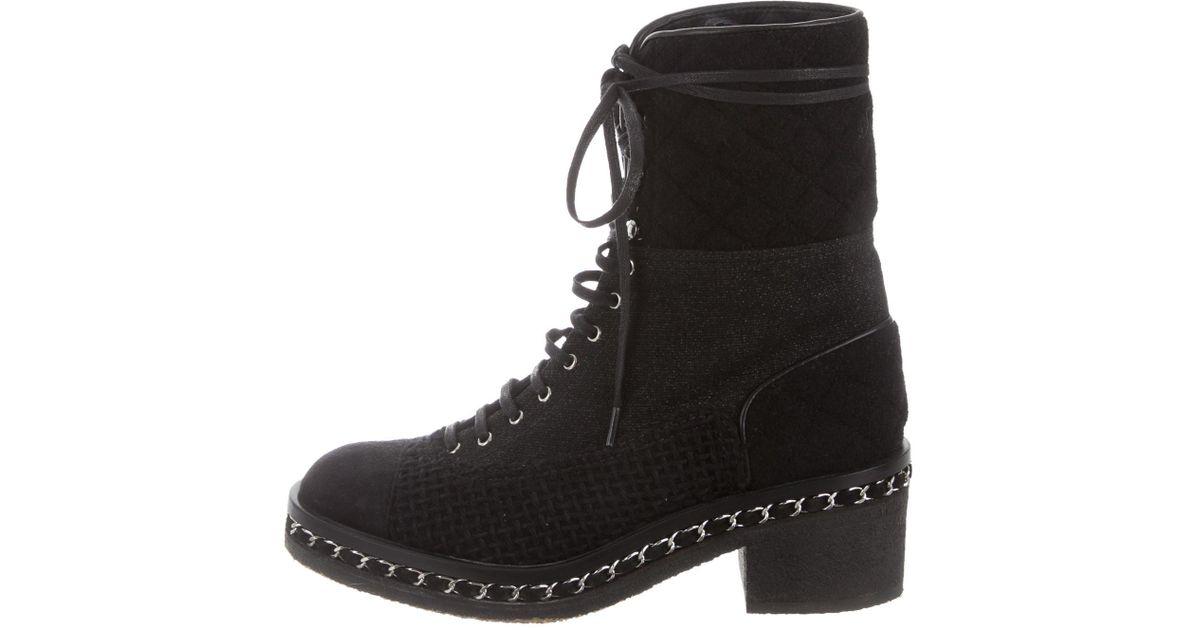 Rebecca Minkoff Gian Chain-Link Combat Boots buy cheap ebay kqb6Ti9EqT