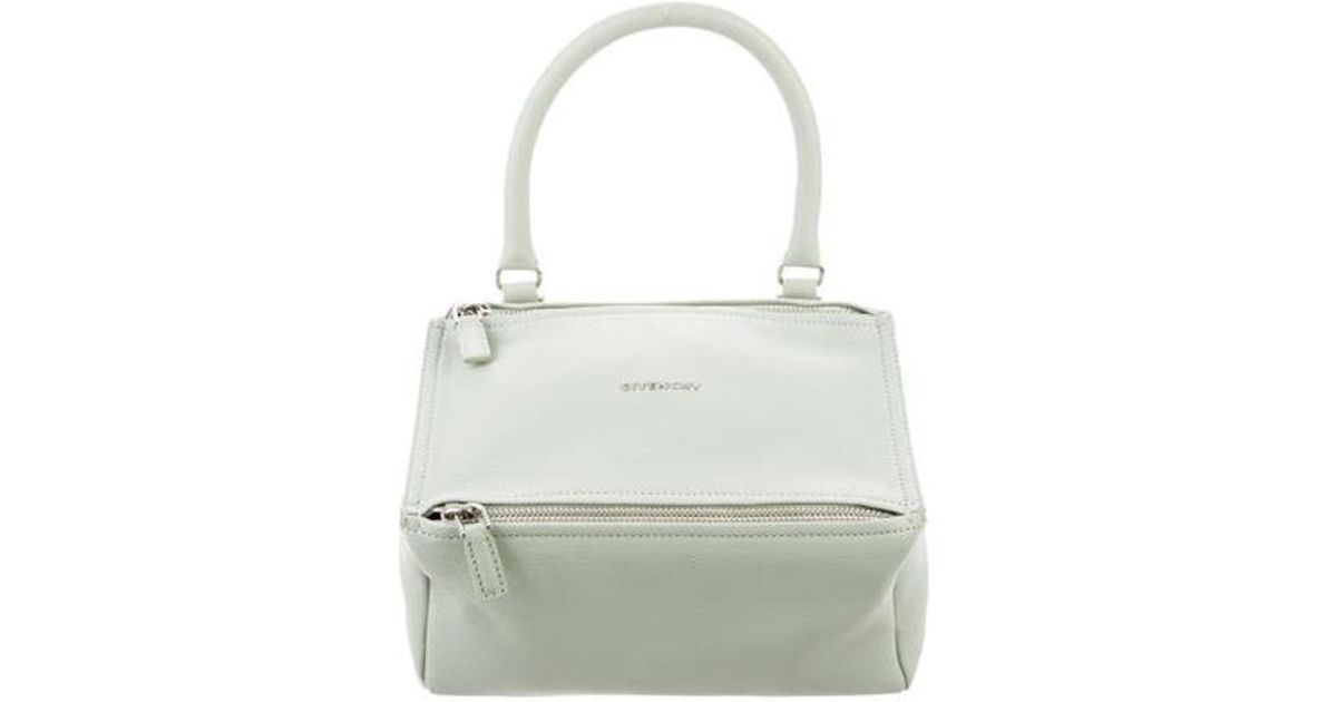 6a1a89dabe Lyst - Givenchy Small Pandora Bag Silver in Metallic