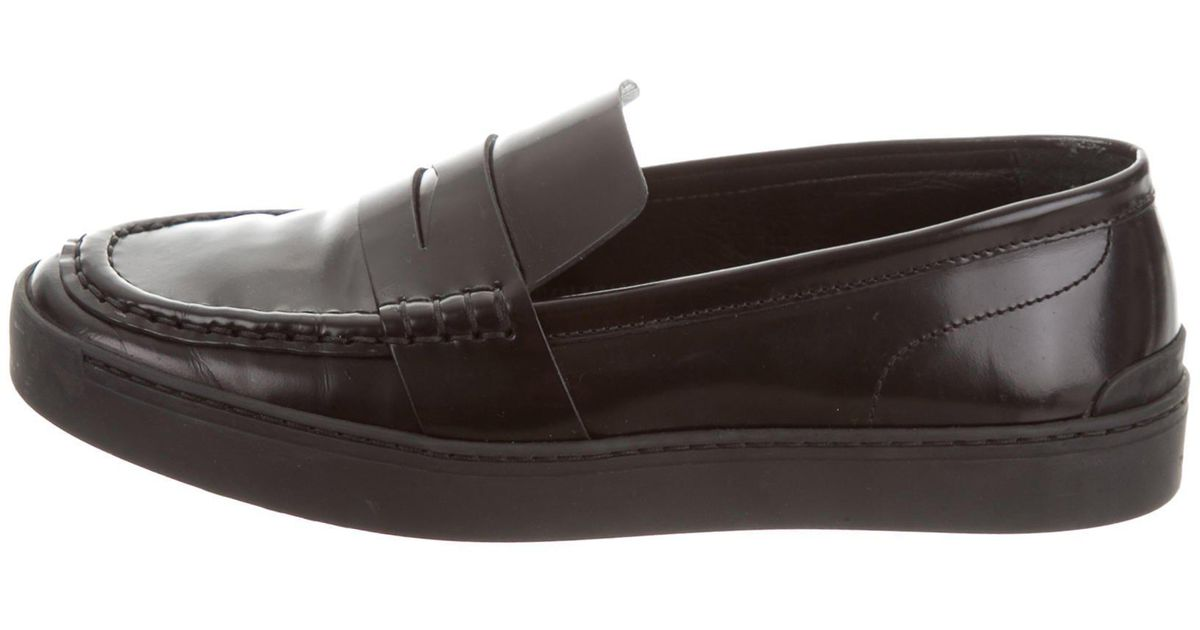 a0f42a9d2c1 Lyst - Rag   Bone Colby Penny Loafers in Black