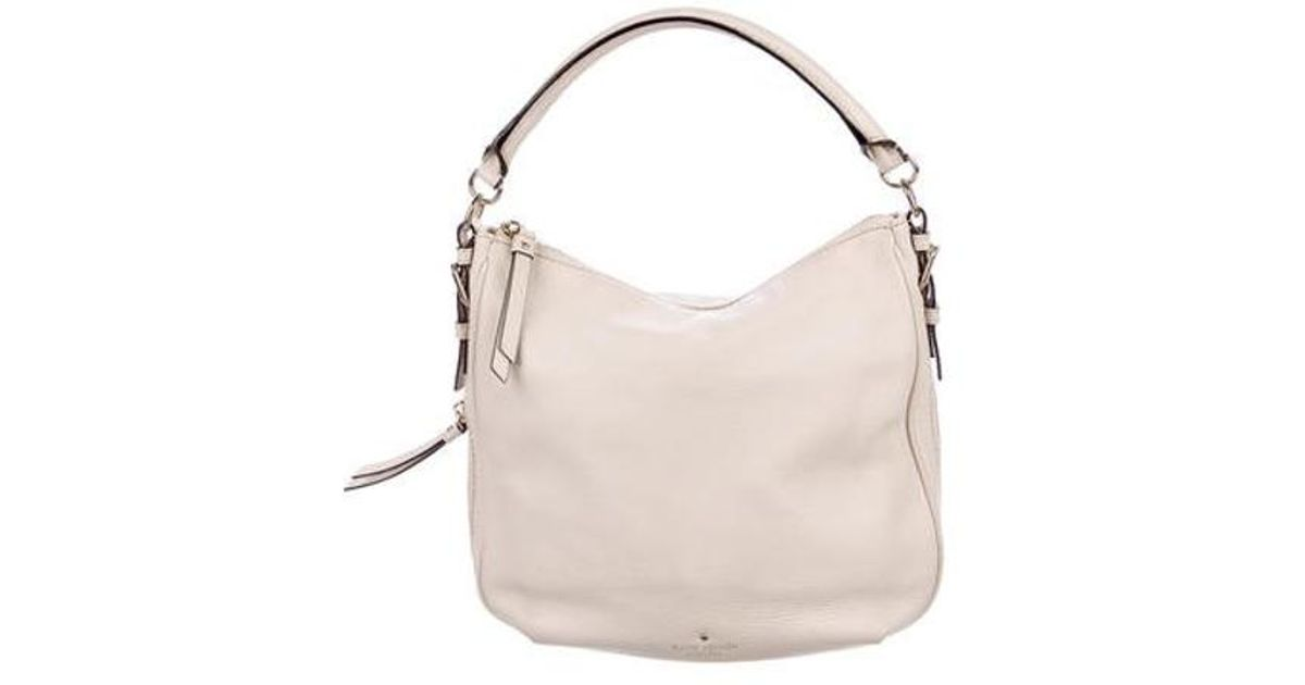 a9bf9faf9 Lyst - Kate Spade Cobble Hill Small Ella Satchel Pink in Metallic