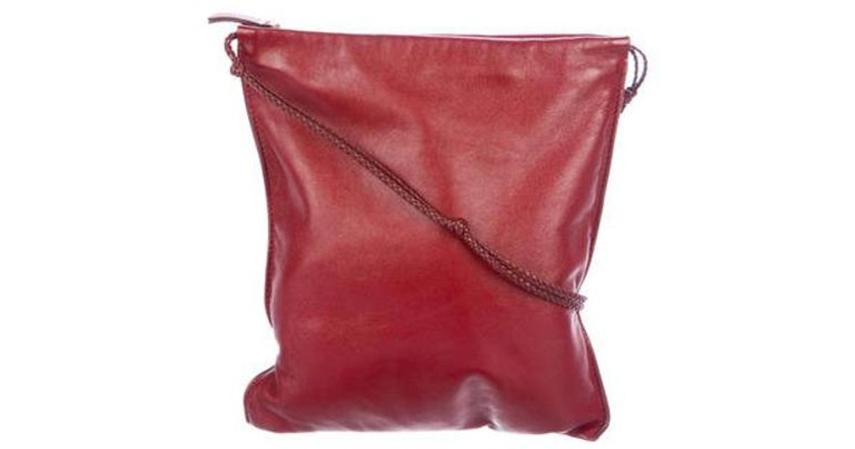 f53af814dc69 Lyst - The Row Large Medicine Pouch Bag Silver in Metallic