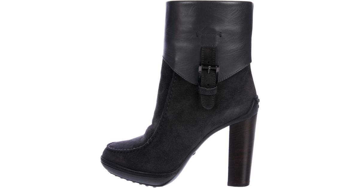 clearance websites in China sale online Tod's Progetto Suede Ankle Boots w/ Tags eastbay online cheap sale how much ATt0v