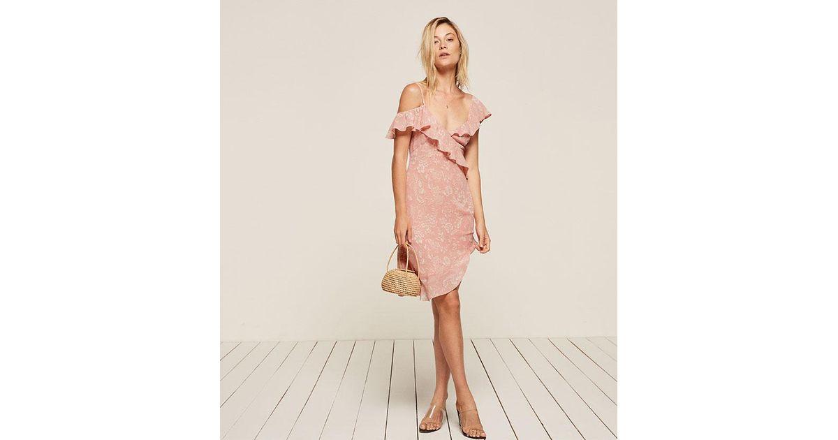 f7ca53f750b4 Reformation Adora Dress - Lyst