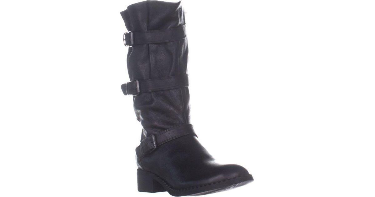 69a3486a930 Gentle Souls - Black By Kenneth Cole Best 3 Buckle Mid-calf Boots - Lyst