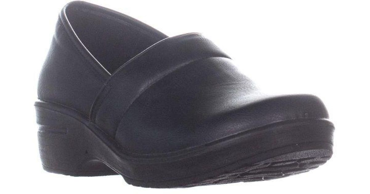 01305ea0828c Lyst - Easy Street Easy Works By Lyndee Professional Work Shoes in Black