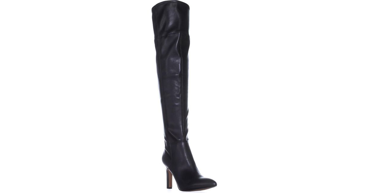 4d76b574be3 Lyst - Franco Sarto Katie Over-the-knee Boots in Black - Save 13%