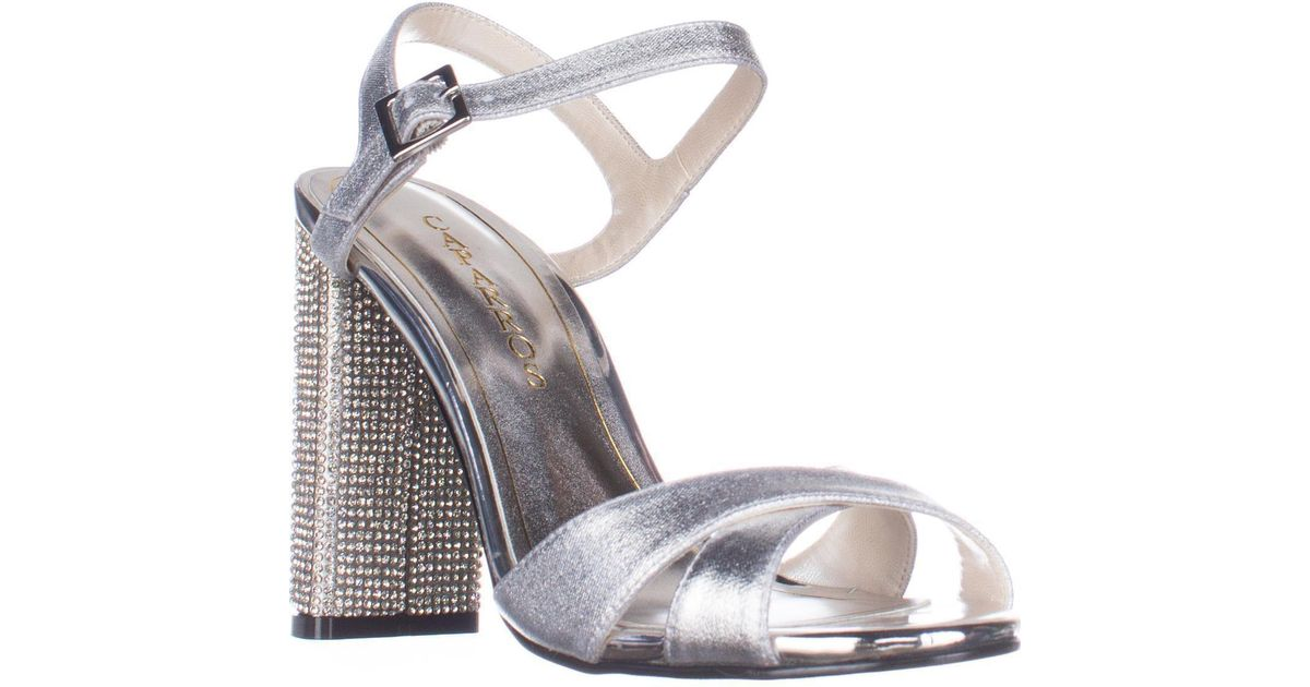 6267ecdf4c9045 Lyst - Caparros Hayley Ankle Strap Dress Sandals in Metallic - Save 12%