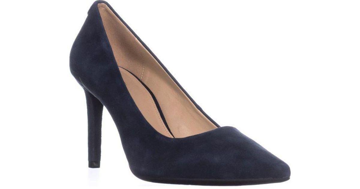 0082b278ca4 Lyst - Michael Kors Michael Dorothy Flex Pump Classic Heels in Blue