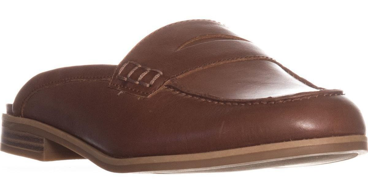 f5f4989d82a Lyst - Naturalizer Villa Backless Penny Loafers in Brown