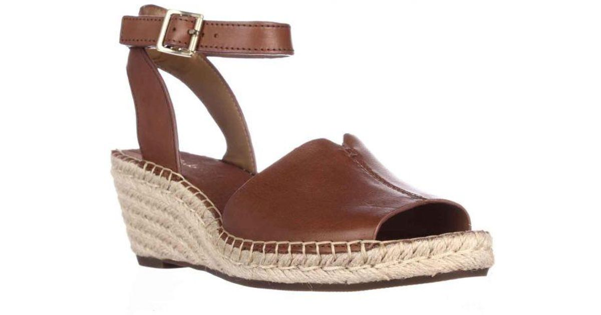 19b67f4a239 Clarks - Brown Petrina Selma Wedge Ankle Strap Espadrille Sandals - Lyst