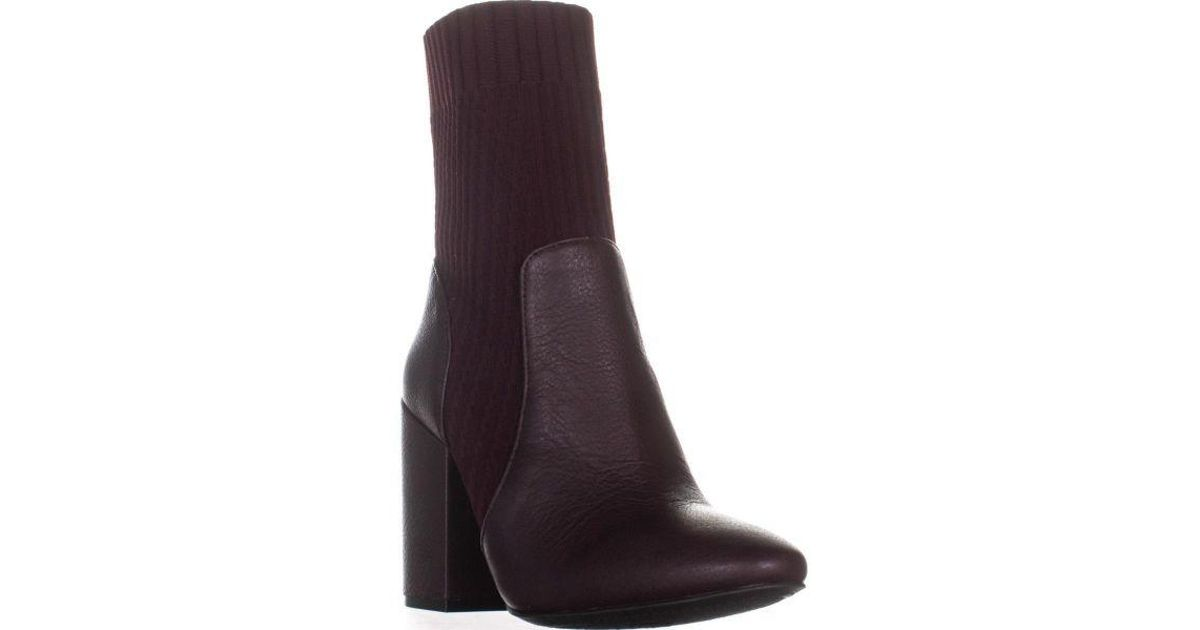 8a0f2ba8a1e Lyst - Vince Camuto Diandra Ankle Boots in Purple