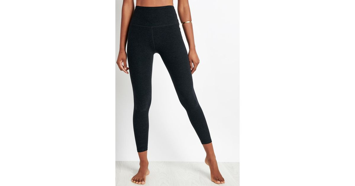 8756ddcb971a5a Lyst - Beyond Yoga Caught In The Midi High Waisted Legging
