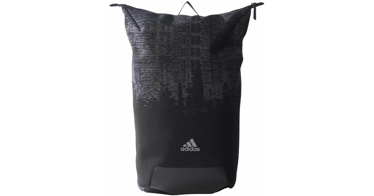 Lyst - adidas Energy Performance Knit Backpack in Black b7d0fedb88