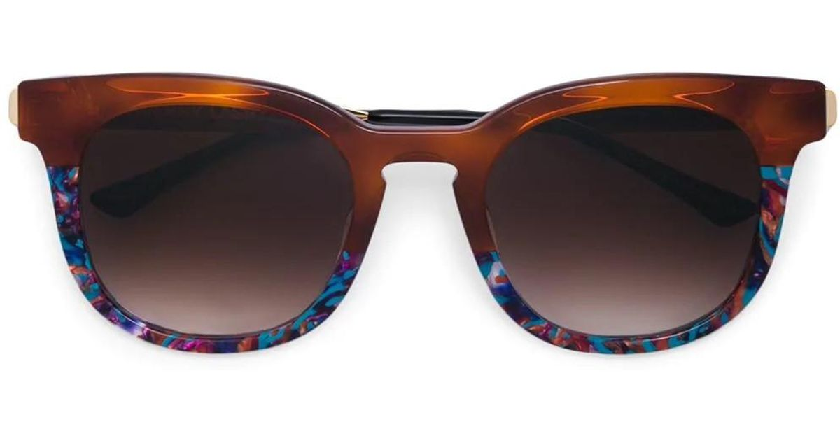dc922b2507 Lyst - Thierry Lasry Penalty Square Sunglasses in Brown