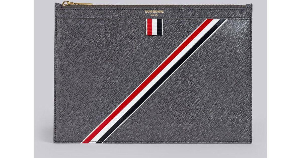 Tablet Stripe Browne Lyst Diagonal Thom Intarsia Small Leather FKu5TJ3l1c
