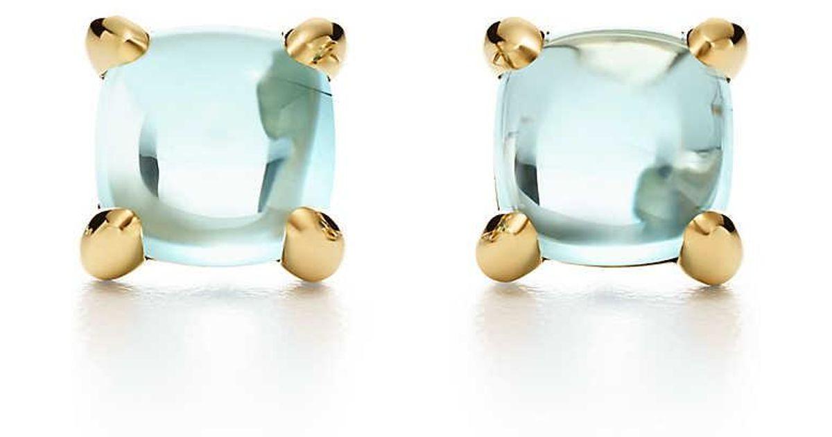 7ffe730fc Paloma's Sugar Stacks Earrings In 18k Gold With Blue Topaz in Metallic -  Lyst