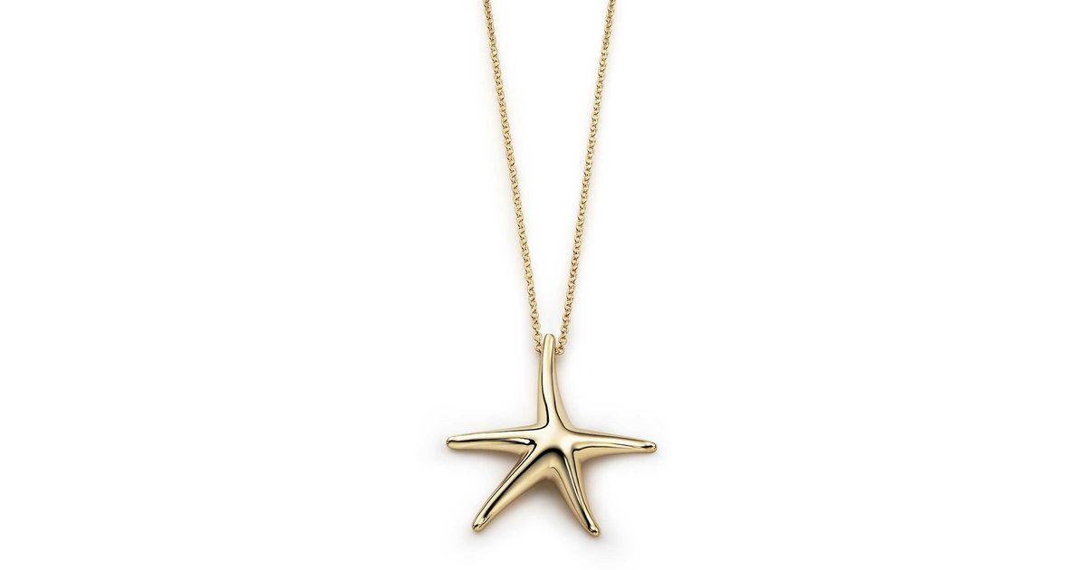 420eca0a4 Tiffany & Co. Elsa Peretti® Starfish Pendant In 18k Gold, 28 Mm in ...