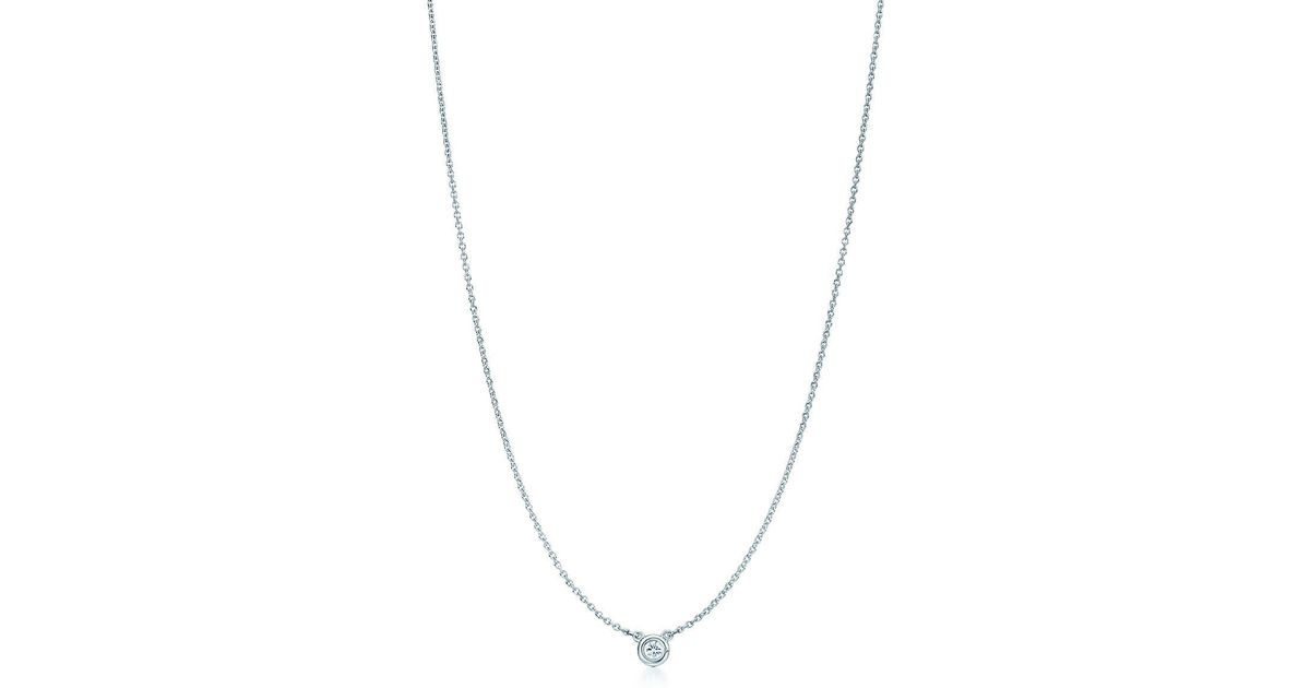 Elsa Peretti Color by the Yard pendant in sterling silver with rhodonite Tiffany & Co. Jgmp1Cw