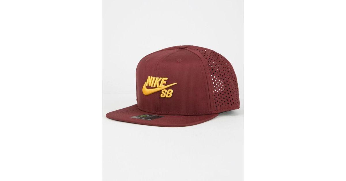 quality design b0f3a 478ec Nike Sb Aero Pro Mens Trucker Hat for Men - Lyst