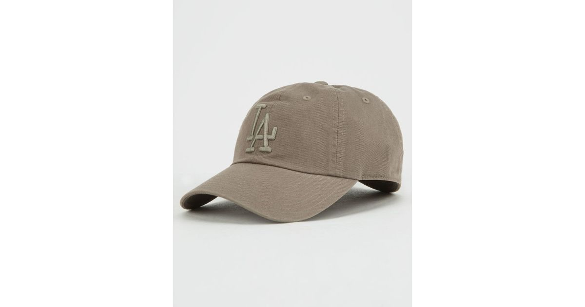 Lyst - American Needle Mlb Los Angeles Dodgers Dad Hat in Green 0adc6f8f802