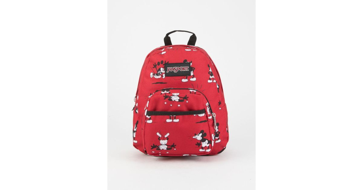 6c0ee094a7a Lyst - Jansport X Disney Half Pint Fx Mini Backpack in Red