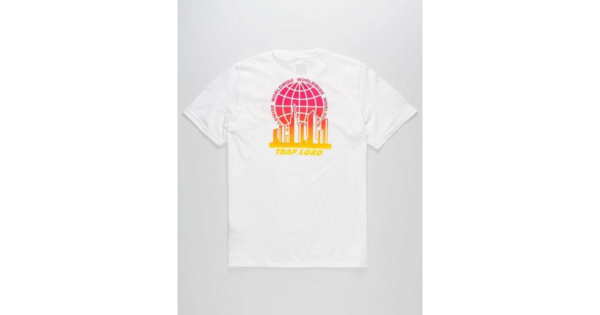 ebb6b53c Lyst - adidas X Trap Lord Ferg Mens T-shirt in White for Men