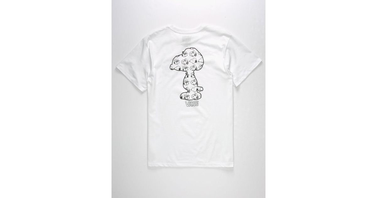 531c0c7d6fdb29 Lyst - Vans X Peanuts Snoopy S Brothers Mens T-Shirt in White for Men