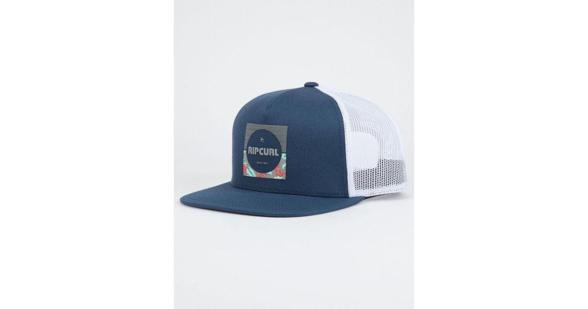 6499d58696a5b Rip Curl Combine Mens Trucker Hat in Blue for Men - Lyst