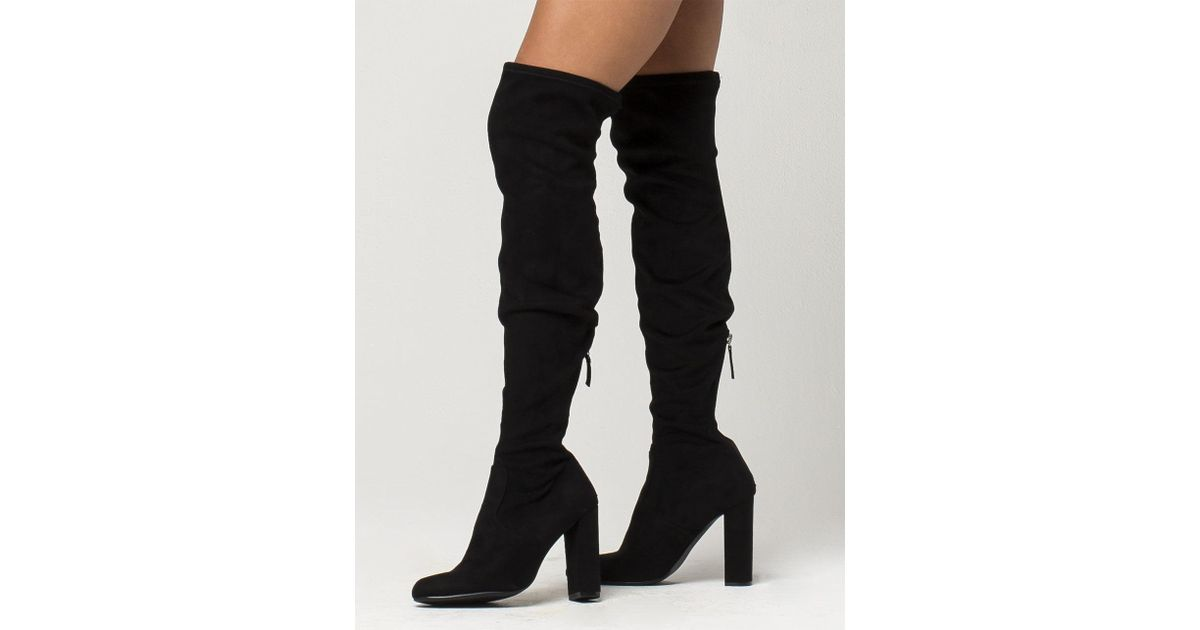fa9968372e1 Lyst - Steve Madden Emotions Womens Boots in Black