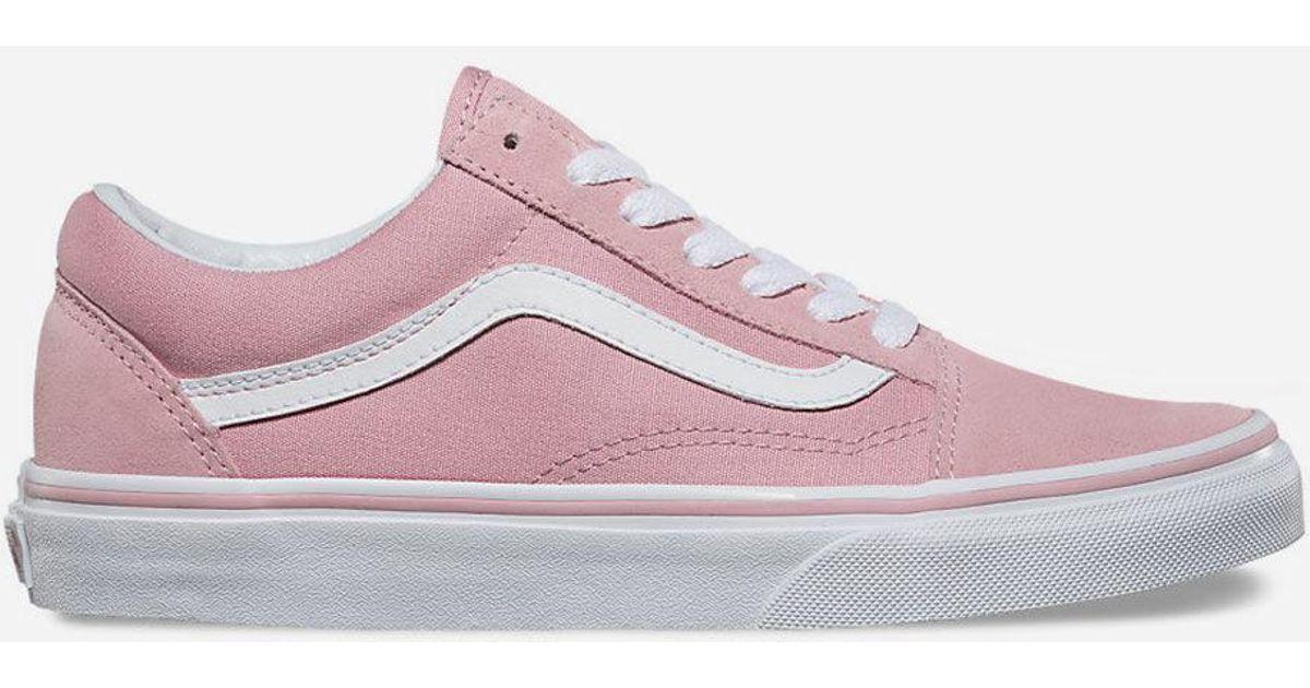 cc316ce145 Lyst - Vans Old Skool Zephyr   True White Womens Shoes in Pink