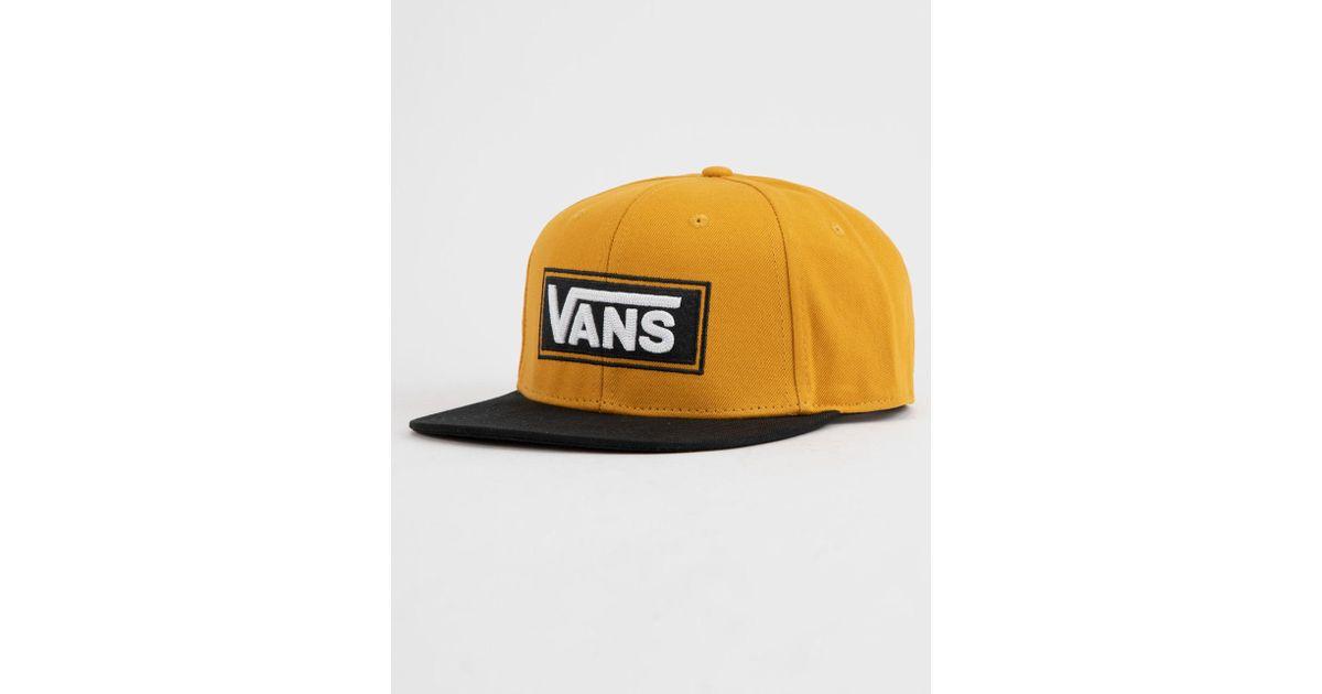 27dc5ed8afe Lyst - Vans X Tillys Drop V Sunflower Mens Snapback Hat in Yellow for Men