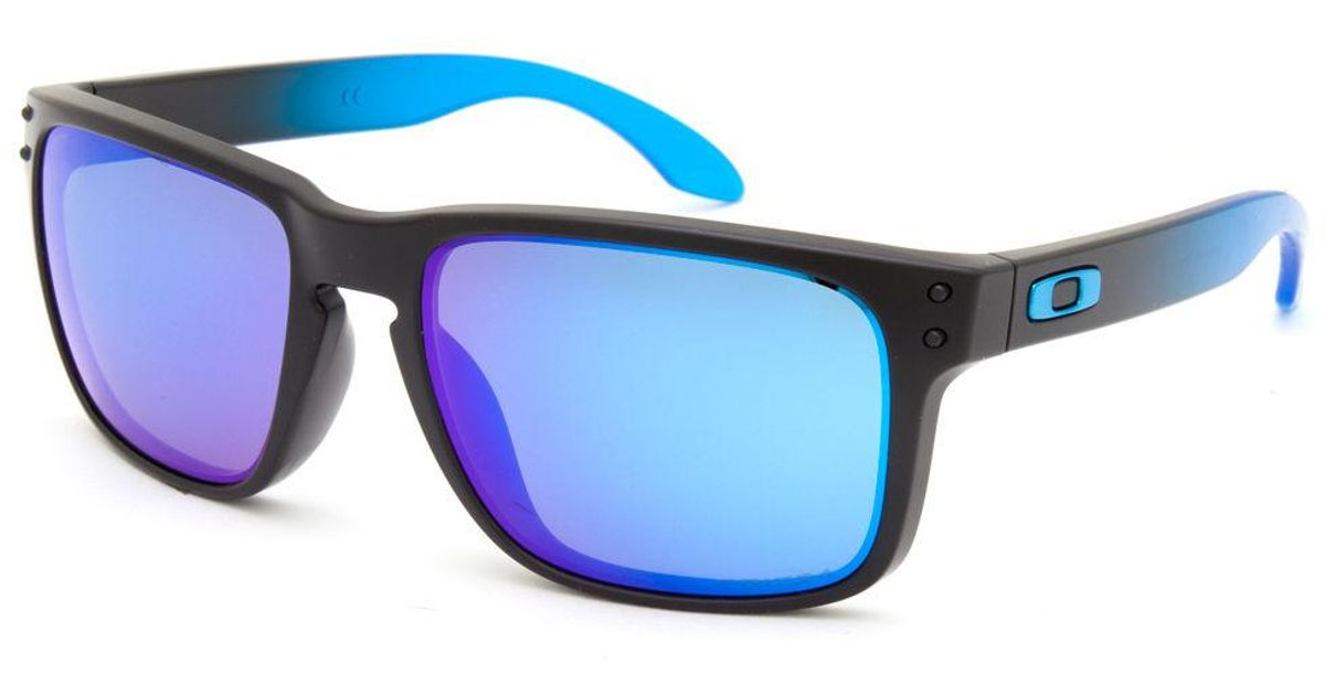 c662ef10bb Lyst - Oakley Holbrook Prizm Sapphire Polarized Sunglasses in Blue for Men
