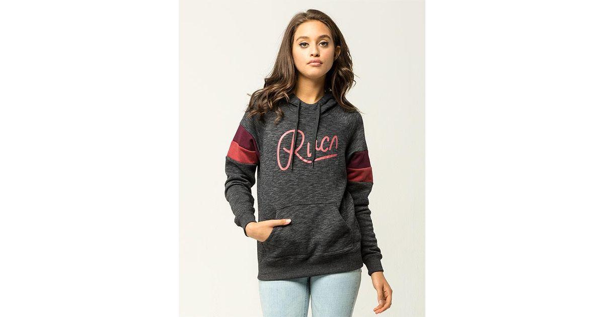 RVCA Womens Broken Colorblocked Pullover