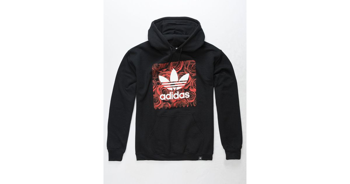 sports shoes 79c19 f5e7d Lyst - adidas Blackbird Rose Fill Mens Hoodie in Black for Men