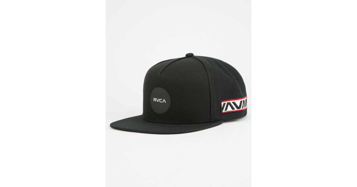 62af4a4a RVCA - Black Bruce Irons Mens Snapback Hat for Men - Lyst