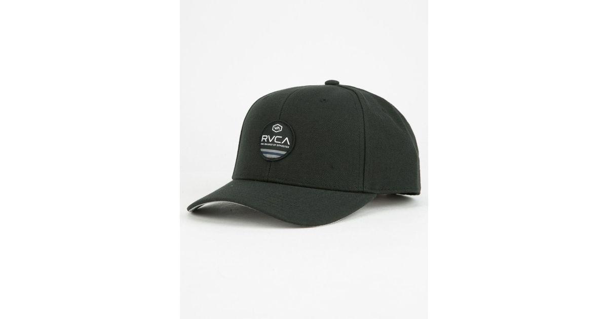c8c6da187e3678 RVCA M Machine Mens Snapback Hat in Black for Men - Lyst