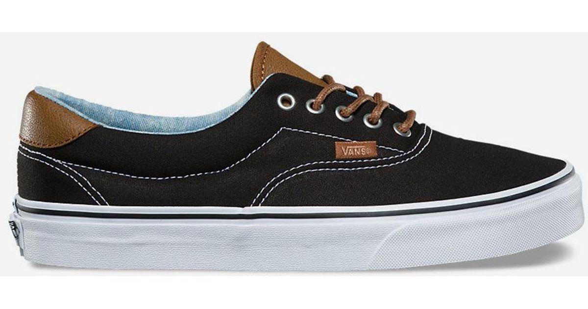 7cbc3c916d Lyst - Vans C l Era 59 Black   Acid Denim Shoes in Black for Men