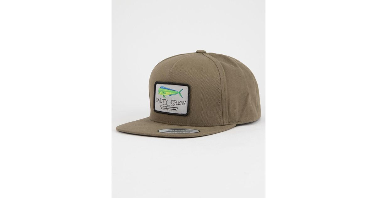 online store 5f051 fa9c9 Salty Crew Mahi Mount Mens Snapback Hat in Green for Men - Lyst