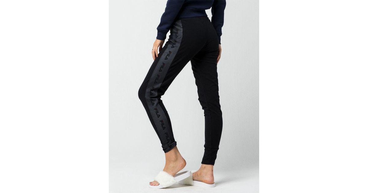 Fila - Black Lia Womens Leggings - Lyst
