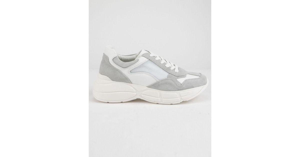 488638ec890 Lyst - Steve Madden Memory White Womens Shoes in White