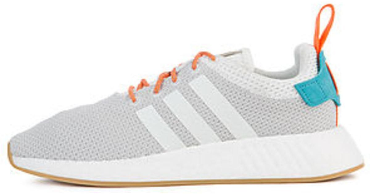 quality design 8eac0 2af83 Adidas - Gray The Nmd R2 Summer In White, Grey And Gum3 - Lyst