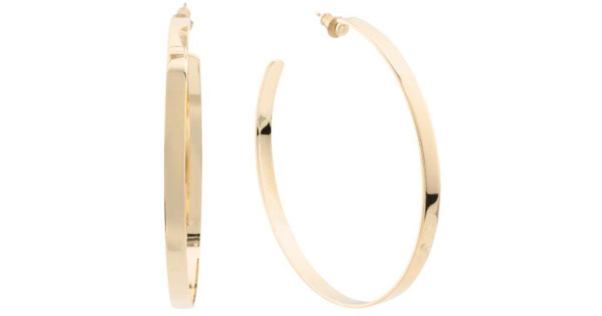 d4e145322 Hoop Earrings Gold Plated Swarovski Crystal Stone Rose Gold Plated ...