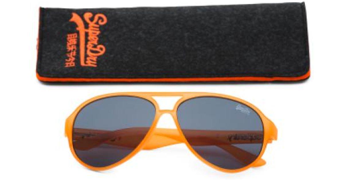 21219b7a50a Lyst - Tj Maxx Unisex Made In Usa Fashion Designer Sunglasses in Orange