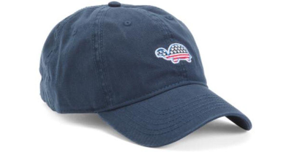 8d78d63d0022d Lyst - Tj Maxx Flag Turtle Baseball Hat in Blue for Men
