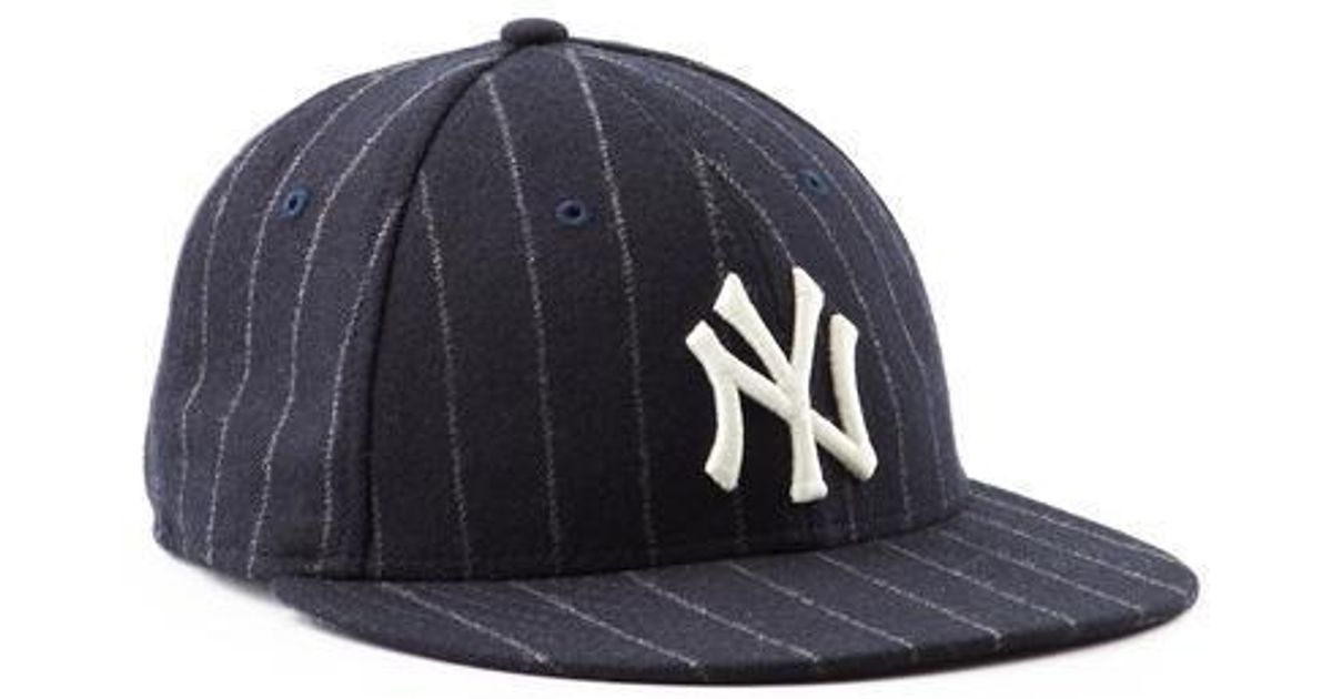 1ab87deea6746 NEW ERA HATS Ny Yankees Navy Pinstripe Hat in Blue for Men - Lyst